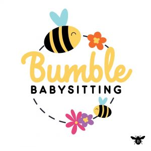 Bumble Babysitting Logo design