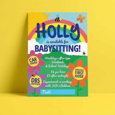 Bumble Babysitting Leaflet
