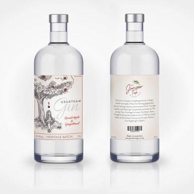 Label Design for Grantham Gin