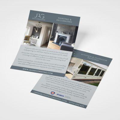 JAG Leaflet Design