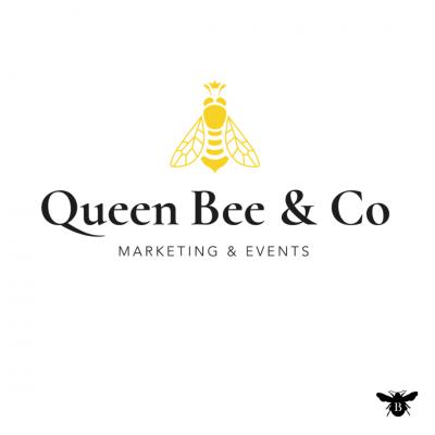 Logo design for Queen Bee Marketing in Grantham