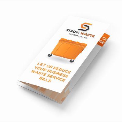 Tri-fold Leaflet Design & Print