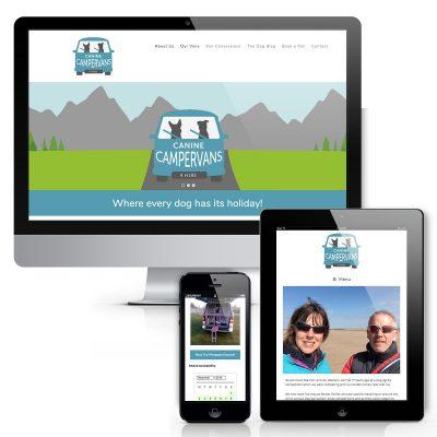 Canine Campervans Website