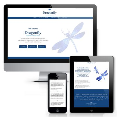 Dragonfly Training Website