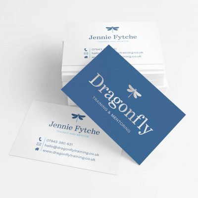 Dragonfly Training Business Cards