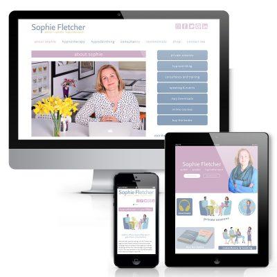 Sophie Fletcher Website